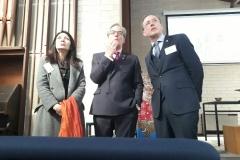 Genevieve Theseira-Haese, Rob-McPherson and Martin Haese, Sept-2017